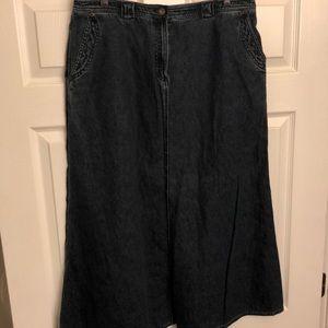 Lauren Jeans Skirt